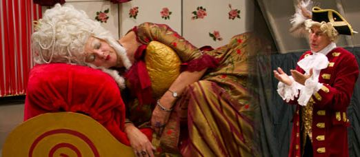Prinses Goudhartje op het Sprookjesfestival