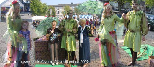 Ontmoetingsmarkt in Oss op 27 september 2009