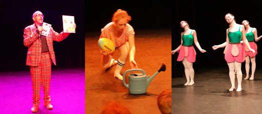 Een balletvoorstelling gemaakt over De Sterrenkoning 2