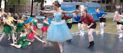 Een balletvoorstelling gemaakt over De Sterrenkoning