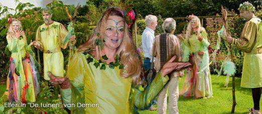 """Elfen in """"De tuinen"""" van Demen"""
